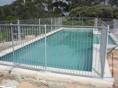 Temporary Pool Fence A Protector Of Children Pets